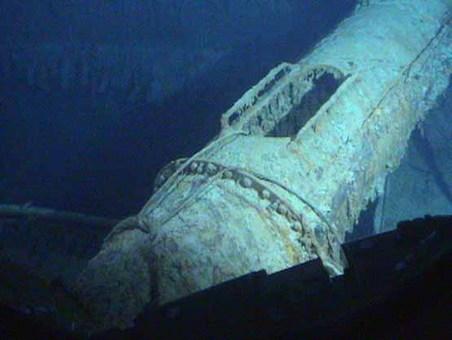 تایتانیک در اعماق دریا در سال 2003 David Bright