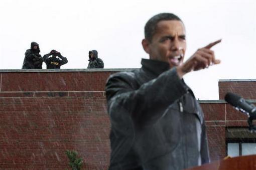 resized 152115 361 بادی گاردهای اوباما + عکس