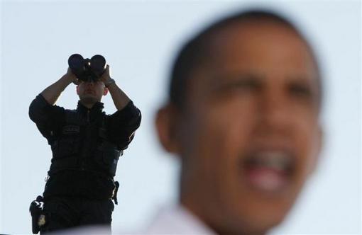 resized 152122 491 بادی گاردهای اوباما + عکس