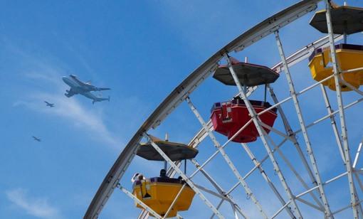 چرخ و فلک سانتا مونیکا (AP Photo/Pacific Park, Brandon Wise)