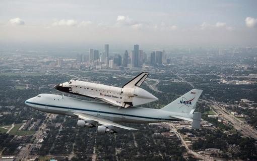 بر فراز هوستون/ تگزاس (Reuters/Sheir Locke/NASA)