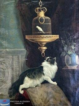 نقاشی استاد کمال الملک