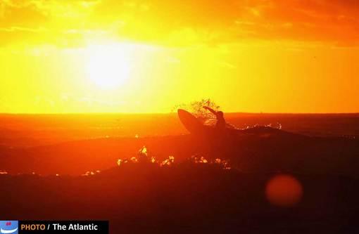 موج سواری در ساحل مانلی، استرالیا
