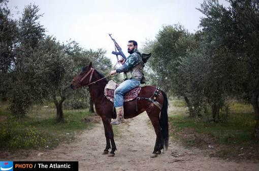 یکی از مخالفان دولت بشار اسد