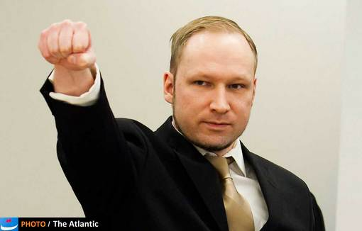 دادگاه «آندرس برینگ برویک» قاتل نروژی در آوریل 2012 برگزار شد و دفاعیات عجیب او همه را متحیر کرد.