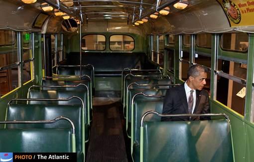 باراک اوباما در موزه هنری فورد در میشیگان