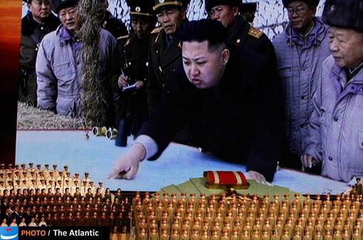 تصویری از رهبر جدید و جوان کره شمالی در مراسم هشتادمین سالگرد تاسیس دولت کمونیستی کره شمالی