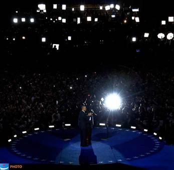 باراک اوباما با پیروزی بر میت رامنی، نامزد جمهوریخواه برای چهار سال دیگر، رئیس جمهور ایالات متحده در کاخ سفید باقی ماند. اوباما در این انتخابات بیش از ۲۷۰ رأی کالج انتخاباتی را از آن خود کرد.