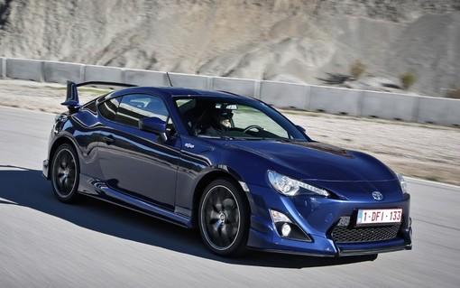 Toyota GT86 development car