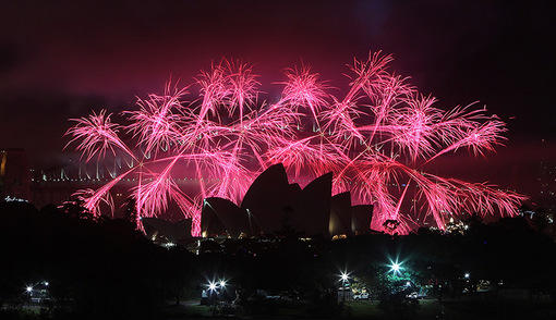 نورافشانی اپراهاوس سیدنی، استرالیا