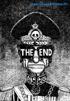 یکی از کاریکاتورهای معروف پس از فرار شاه از ایران که خبر از سقوط سلطنت پهلوی می داد.