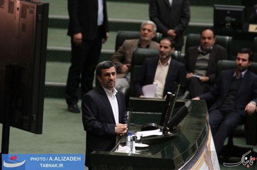 احمدی نژاد آمد ؛ چهار راهکار داد و رفت + تصاویر