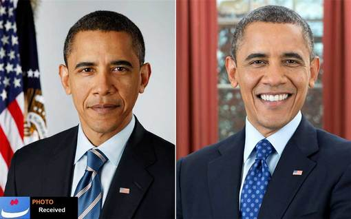 resized 227656 550 - تصاویر:شباهت اوباما و احمدی نژاد پس از 4 سال