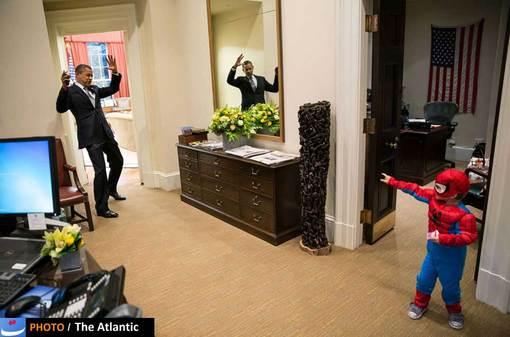 یکی دیگر از تصاویر تبلیغاتی پت سوزا از اوباما