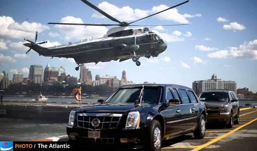 ۲۴ سپتامبر ۲۰۱۲، تیم محافظت اوباما و هزینههای صرف شده برای تشریفات سفرهای او، همواره بخشی از اخبار حاشیهای پیرامون رئیس جمهور ایالات متحده را تشکیل میداد.