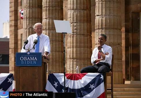 دست راست رئیسجمهور جوان ایالات متحده، سیاستمدار کهنهکار حزب دمکرات است که در چهار سال آینده در لباس معاون اول، او را همراهی خواهد کرد؛ بایدن در جریان سخنرانی در ایلینویز