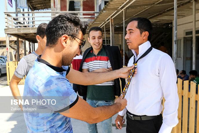 جشن عروسی در میان ترکمن ها
